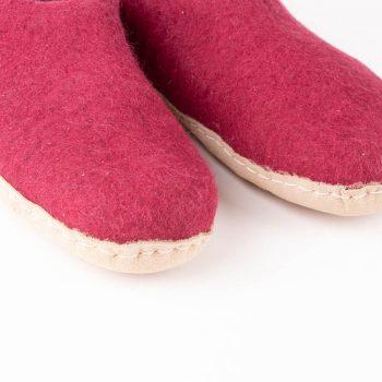 Wine felt slipper (39) | Gallery 2 | TradeAid