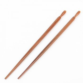 Chopsticks with carved top | TradeAid