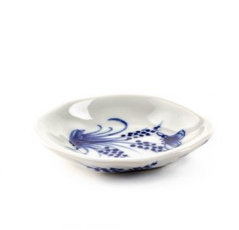 White dish with blue butterfly | TradeAid