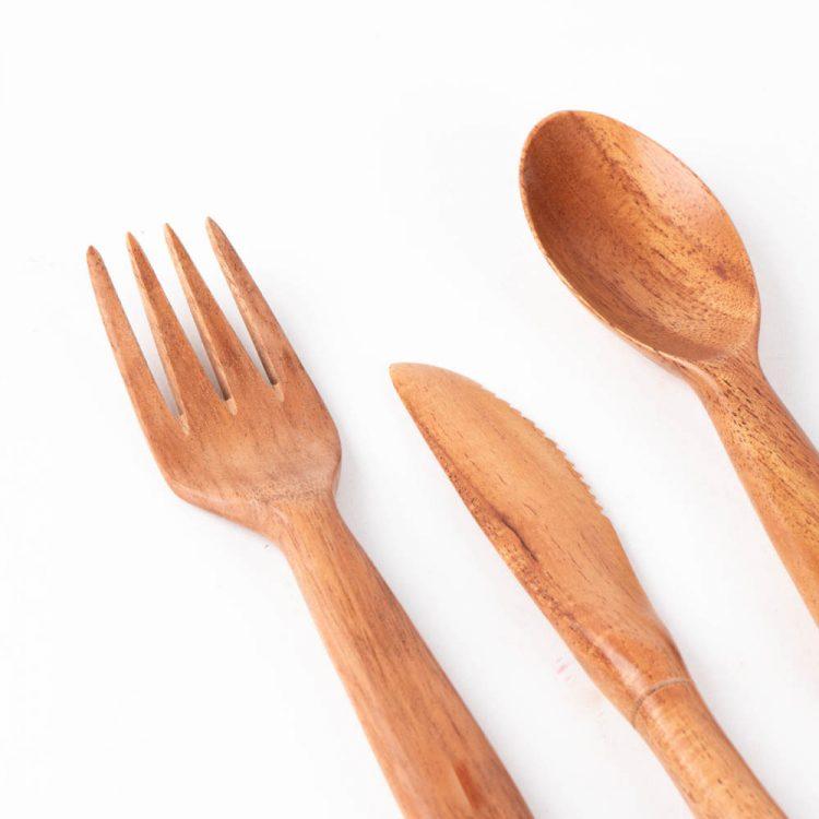 Neem travel cutlery set | Gallery 2 | TradeAid