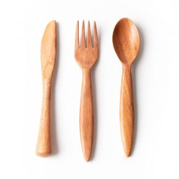 Neem travel cutlery set | TradeAid