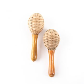 Wooden cane shakers | TradeAid