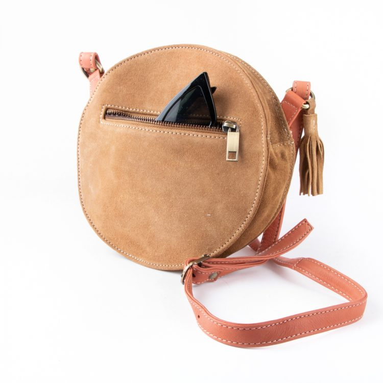 Tan and coral canteen bag | Gallery 1 | TradeAid