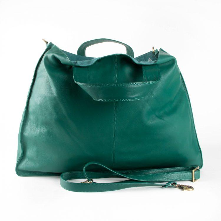 Sea green x-large tote bag   TradeAid