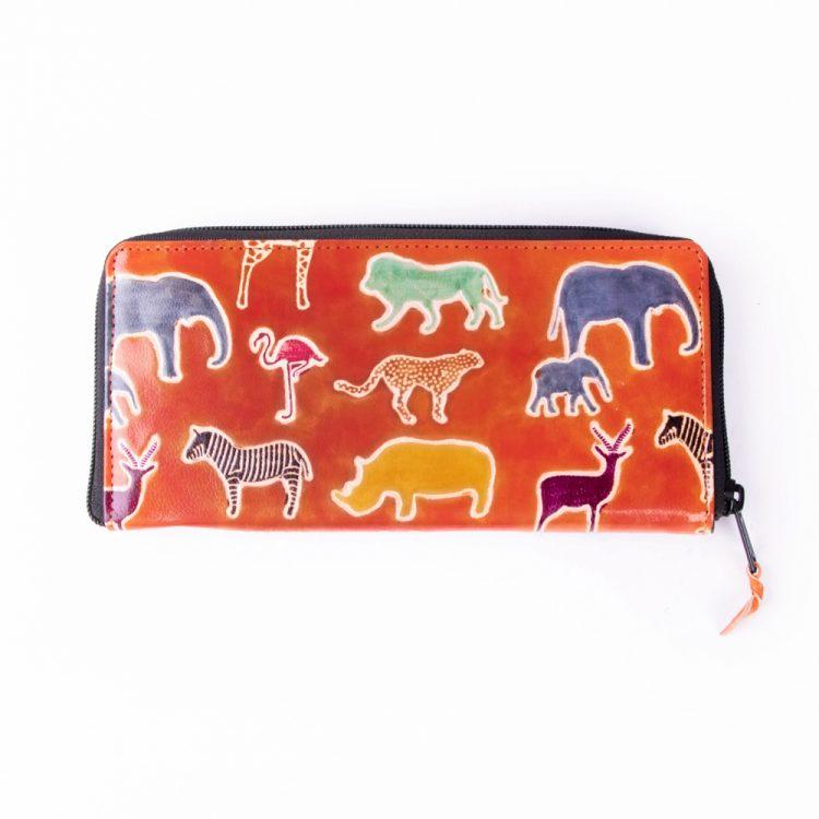 Zoo shanti leather wallet | TradeAid