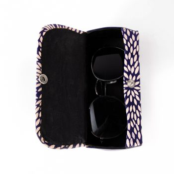 Blue leaf spectacle case | Gallery 2 | TradeAid