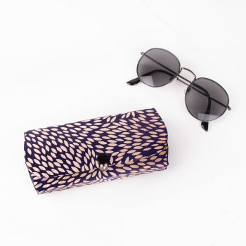 Blue leaf spectacle case | Gallery 1 | TradeAid
