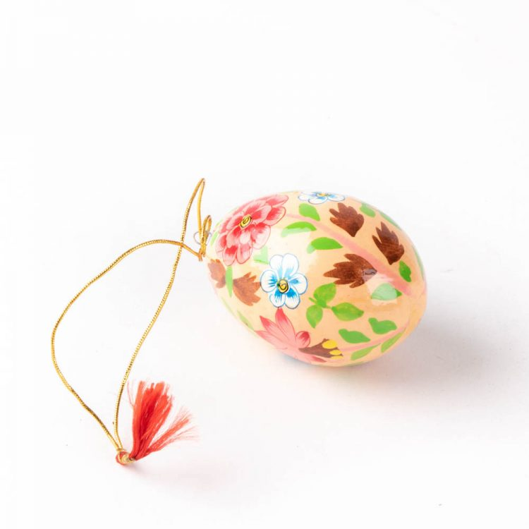Floral decorative egg | TradeAid
