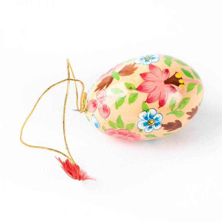 Floral decorative egg | Gallery 1 | TradeAid