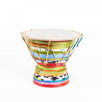 Recycled saree dugi drum | TradeAid