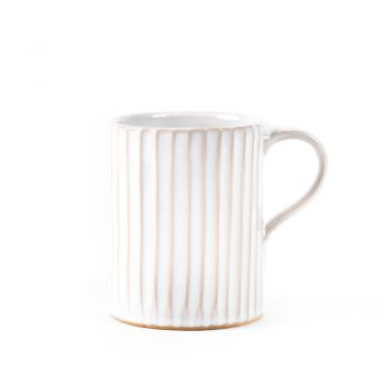 Striped stoneware mug   TradeAid