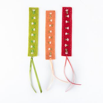 Felt bookmarks | TradeAid
