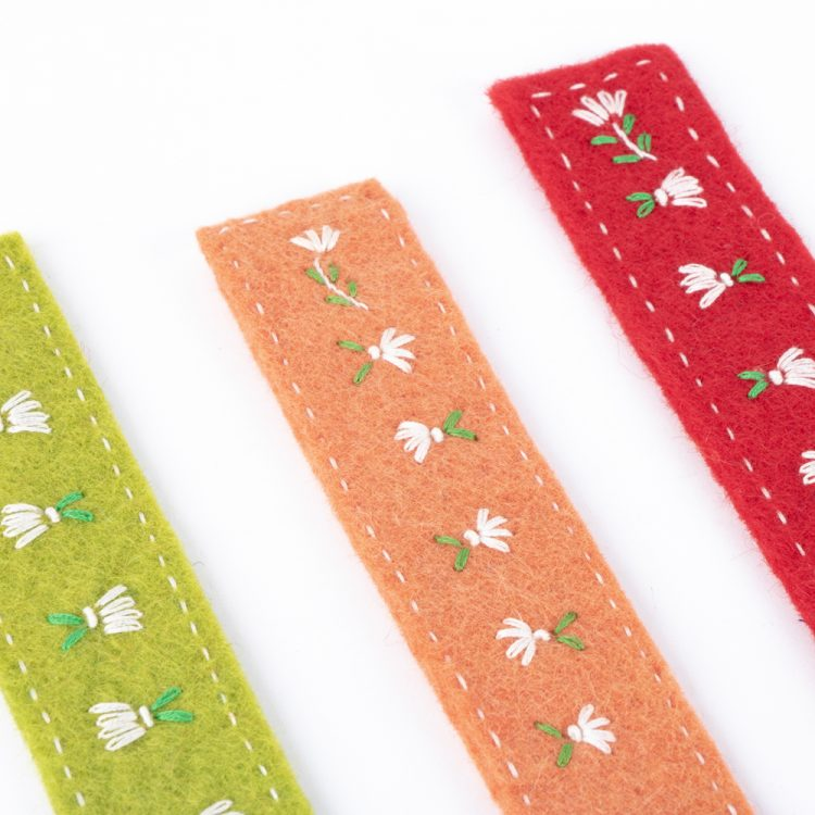 Felt bookmarks | Gallery 1 | TradeAid