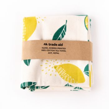 Lime kitchen towel | TradeAid