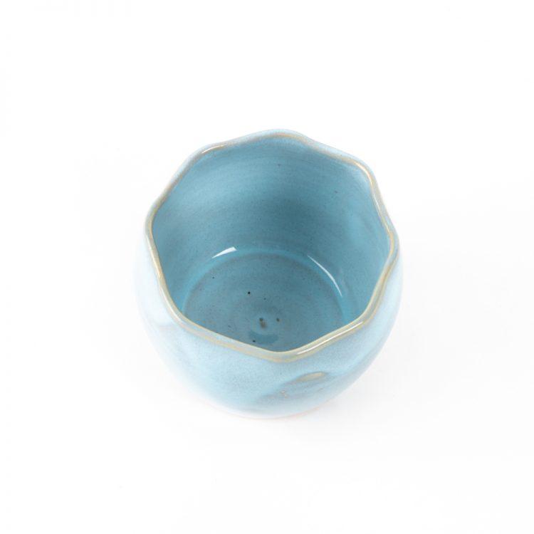 Blue stoneware planter | Gallery 2 | TradeAid
