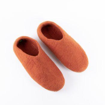 Pumpkin felt slipper (39) | Gallery 1 | TradeAid