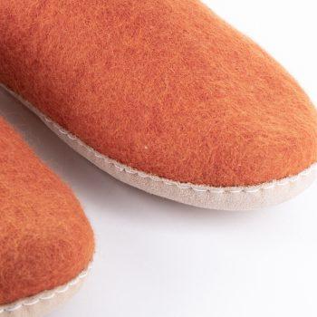 Pumpkin felt slipper (39) | Gallery 2 | TradeAid
