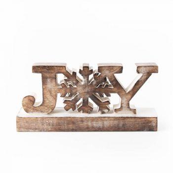 Joy mango wood decoration | TradeAid