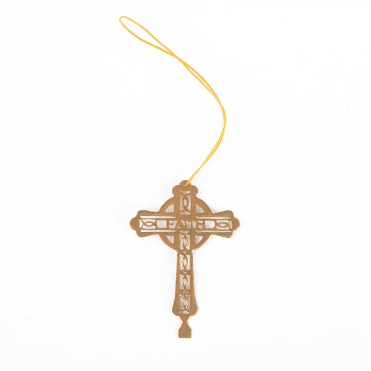 Metal cross hanging | Gallery 1 | TradeAid