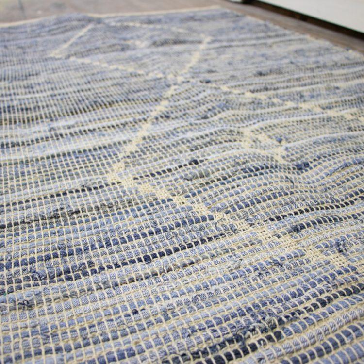 Large denim rug | Gallery 1 | TradeAid
