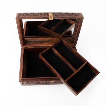 Sheesham jewellery box   Gallery 2   TradeAid