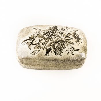Floral paper mache box | TradeAid
