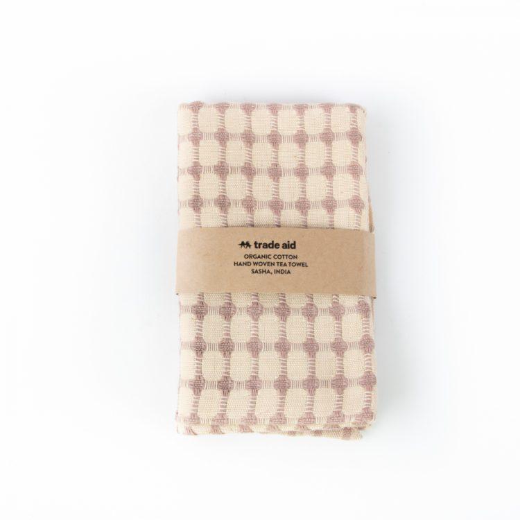 Organic cotton tea towel | TradeAid