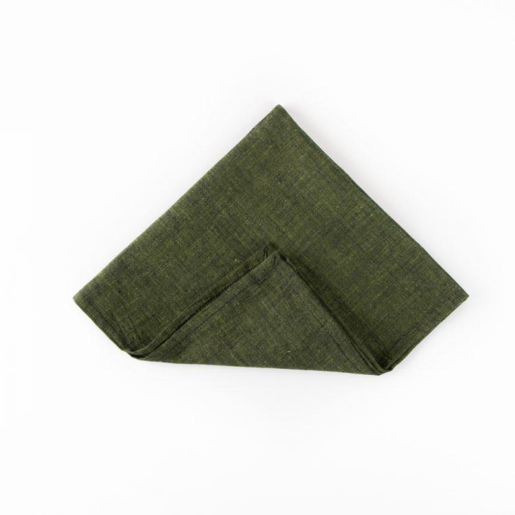 Olive handloom napkin | TradeAid
