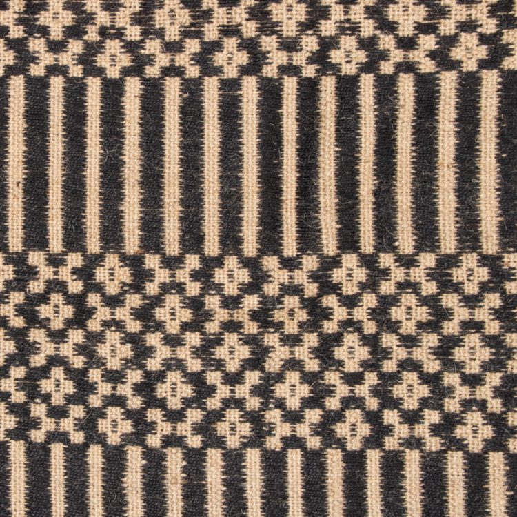 Floral and striped jute rug | Gallery 2 | TradeAid