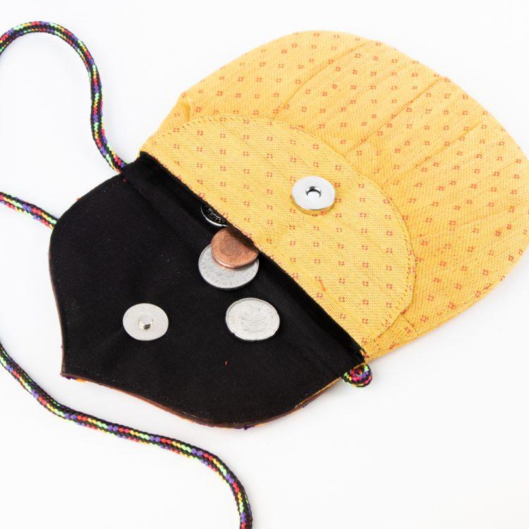 Mushru and leather micro bag | Gallery 2 | TradeAid
