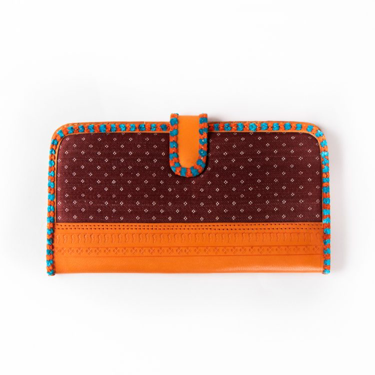 Mushru and leather wallet | TradeAid