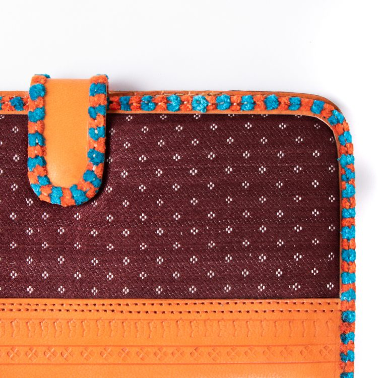 Mushru and leather wallet | Gallery 1 | TradeAid