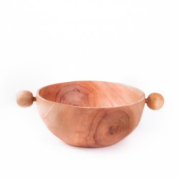 Serving bowl with knobs | TradeAid