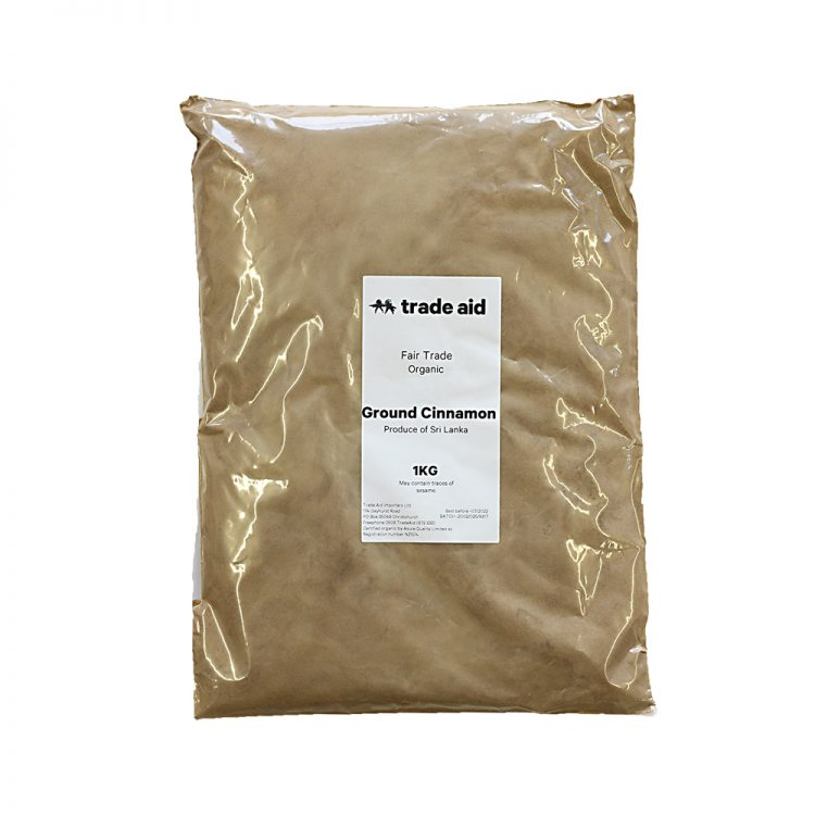 Ground cinnamon – 1kg | TradeAid