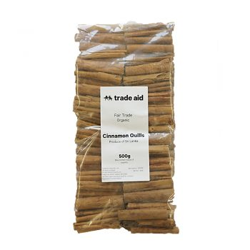 Cinnamon quills – 500g | TradeAid