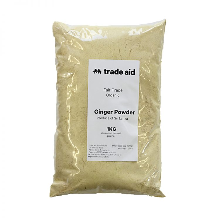 Ground ginger – 1kg | TradeAid