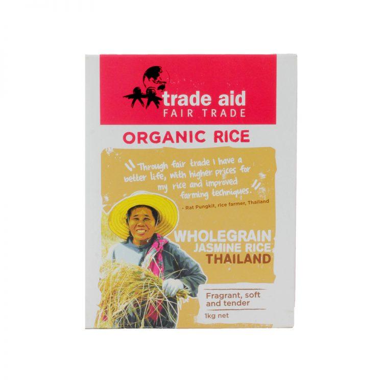 Wholegrain jasmine rice – 1kg | TradeAid