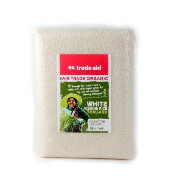 White jasmine rice – 5kg | TradeAid