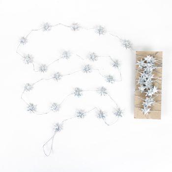 Silver star garland | TradeAid