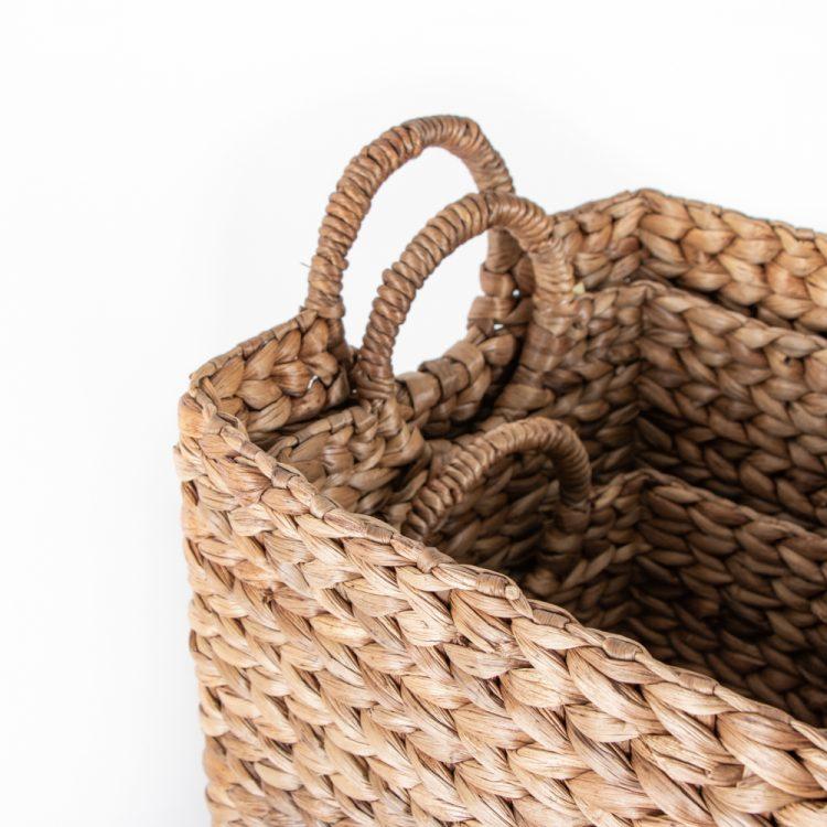 Tall water hyacinth basket (set of three) | Gallery 1 | TradeAid