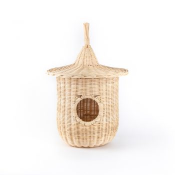 Natural rattan bird nest | TradeAid