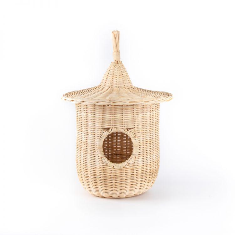 Natural rattan bird nest | TradeAid