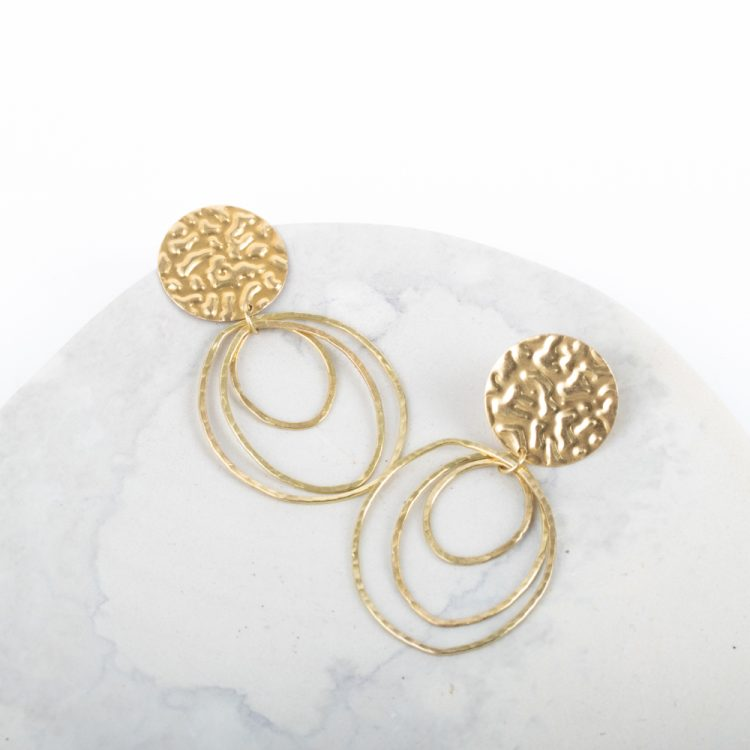Concentric hoops earrings | Gallery 1 | TradeAid