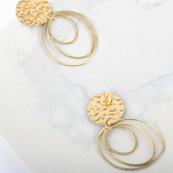 Concentric hoops earrings | Gallery 2 | TradeAid