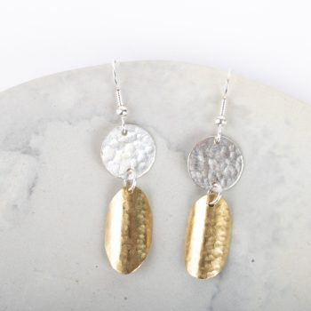Double disc earrings | TradeAid