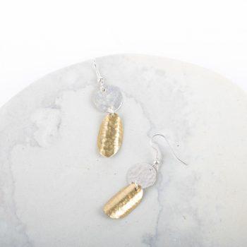 Double disc earrings | Gallery 2 | TradeAid