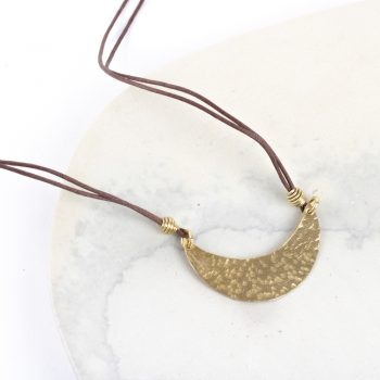 Crescent necklace | TradeAid