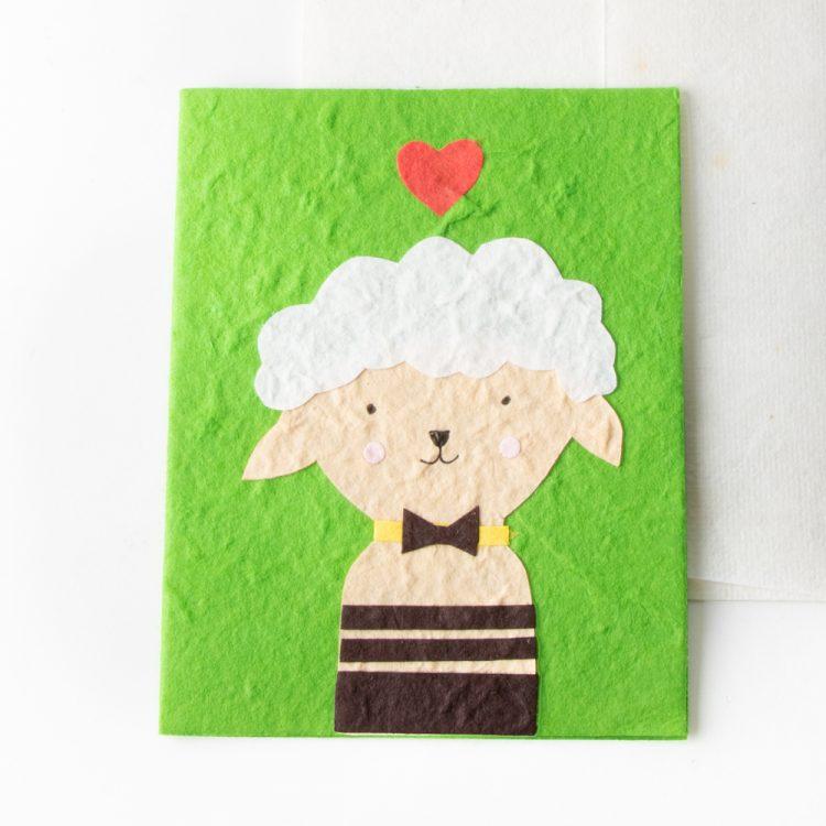Sheep card   TradeAid