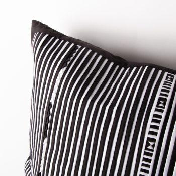 Black and white lisu cushion | Gallery 2 | TradeAid