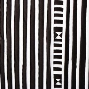 Black and white lisu cushion | Gallery 1 | TradeAid